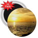 Yellow Sky 3  Magnet (10 pack)