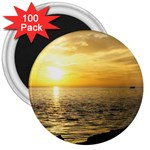Yellow Sky 3  Magnet (100 pack)