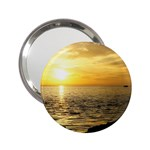 Yellow Sky 2.25  Handbag Mirror