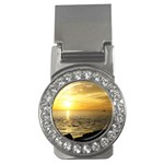 Yellow Sky Money Clip (CZ)