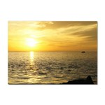 Yellow Sky Sticker A4 (100 pack)