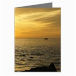 Yellow Sky Greeting Card