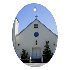 Historic Catholic Church Ornament (Oval) by lperry