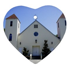 Historic Catholic Church Ornament (Heart) by lperry