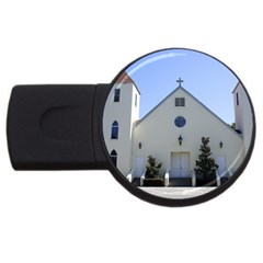 Historic Catholic Church USB Flash Drive Round (2 GB) by lperry