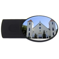 Historic Catholic Church USB Flash Drive Oval (4 GB) by lperry