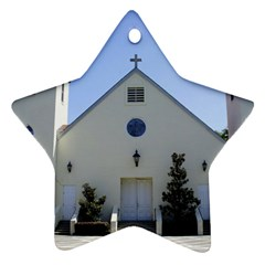 Historic Catholic Church Star Ornament (Two Sides) by lperry