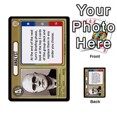 Cold War Cia Vs Kgb 3 Players By Heath Doerr   Multi Purpose Cards (rectangle)   8dggt66ngh9q   Www Artscow Com Front 13