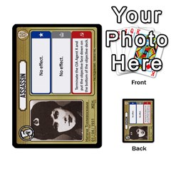 Cold War Cia Vs Kgb 3 Players By Heath Doerr   Multi Purpose Cards (rectangle)   8dggt66ngh9q   Www Artscow Com Front 14