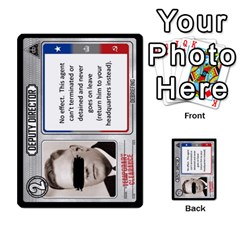 Cold War Cia Vs Kgb 3 Players By Heath Doerr   Multi Purpose Cards (rectangle)   8dggt66ngh9q   Www Artscow Com Front 19