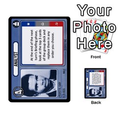 Cold War Cia Vs Kgb 3 Players By Heath Doerr   Multi Purpose Cards (rectangle)   8dggt66ngh9q   Www Artscow Com Front 5