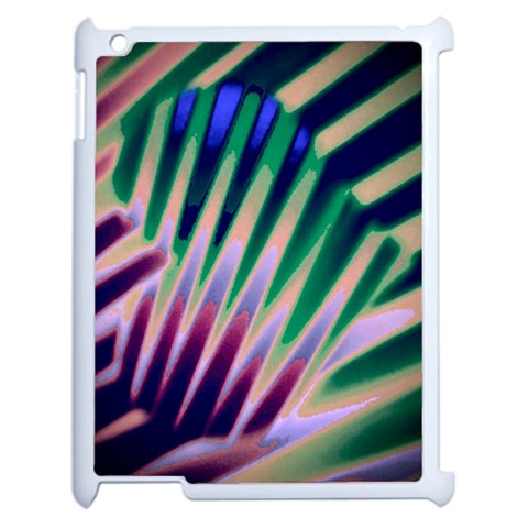 Jungle Heart 1  On Ipad2 By Riksu   Apple Ipad 2 Case (white)   88otd4tf9ikq   Www Artscow Com Front