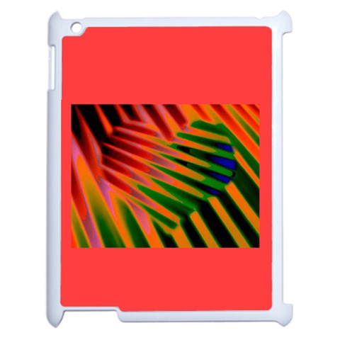 Jungle Drum  Heart 2 On Ipad2 By Riksu   Apple Ipad 2 Case (white)   Hz2fb230qlzm   Www Artscow Com Front