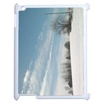 the  winter view (ipad2) - Apple iPad 2 Case (White)