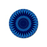 Blue Lagoon Rubber Round Coaster (4 pack)
