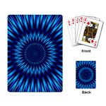 Blue Lagoon Playing Cards Single Design