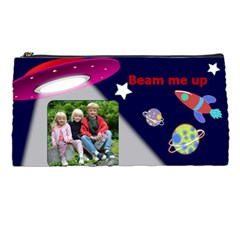 Space Pencil Case By Deborah   Pencil Case   C1urp7r32gmk   Www Artscow Com Front