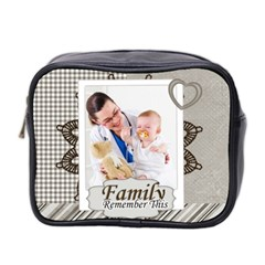 Family By Joely   Mini Toiletries Bag (two Sides)   V7sc16ac7lbw   Www Artscow Com Front
