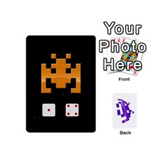8 Bit Mini By Daniel Cassar   Playing Cards 54 Designs (mini)   Axacabfmmvzf   Www Artscow Com Front - Spade4