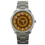 Golden Lagoon Sport Metal Watch
