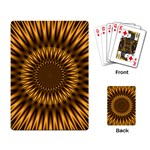 Golden Lagoon Playing Cards Single Design