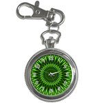 Green Lagoon Key Chain Watch