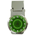 Green Lagoon Money Clip Watch