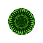 Green Lagoon Rubber Round Coaster (4 pack)