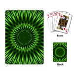 Green Lagoon Playing Cards Single Design