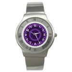 Lilac Lagoon Stainless Steel Watch