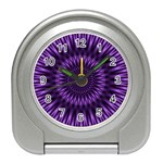 Lilac Lagoon Travel Alarm Clock