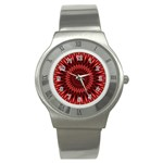 Red Lagoon Stainless Steel Watch