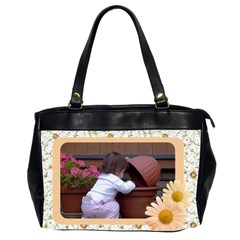 Pretty As A Daisy Oversize Office Bag By Deborah   Oversize Office Handbag (2 Sides)   Coahchgexy57   Www Artscow Com Front