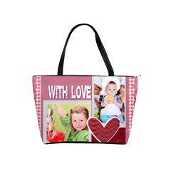 With Love By Mac Book   Classic Shoulder Handbag   Aslnie54mbuh   Www Artscow Com Front
