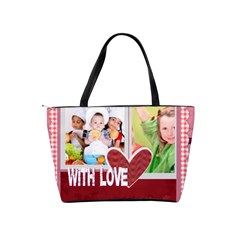 With Love By Mac Book   Classic Shoulder Handbag   Aslnie54mbuh   Www Artscow Com Back