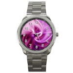 Pink Twist Sport Metal Watch