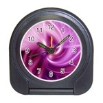 Pink Twist Travel Alarm Clock