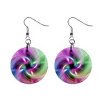 Multi Twist 1  Button Earrings