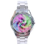 Multi Twist Stainless Steel Analogue Men's Watch