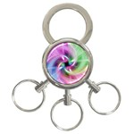 Multi Twist 3-Ring Key Chain
