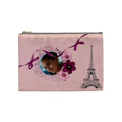 French Quarter   Cosmetic Bag 2 (medium) By Picklestar Scraps   Cosmetic Bag (medium)   Mm6028l9es29   Www Artscow Com Front