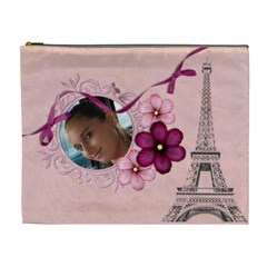 French Quarter   Cosmetic Bag 2 (xl) By Picklestar Scraps   Cosmetic Bag (xl)   Oo217velu3o0   Www Artscow Com Front