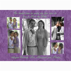 Save The Dates  Decamillo By Lindsey Hayes   5  X 7  Photo Cards   K33ffo5idy05   Www Artscow Com 7 x5 Photo Card - 1