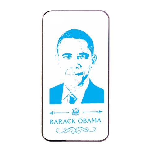 Obama By Divad Brown   Apple Iphone 4/4s Seamless Case (black)   53dww6jlocyx   Www Artscow Com Front