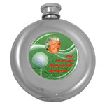 Flask_round_Golf Tournament - Hip Flask (5 oz)