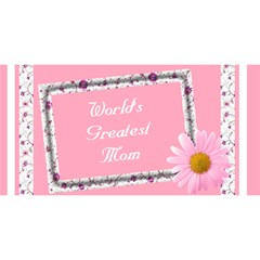World Greatest Mom 3d Card By Deborah Front