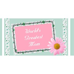 The world greatest Mom 3d Card by Deborah Front