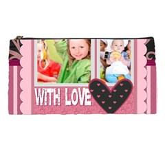 With Love By Mac Book   Pencil Case   399wmmotqi5y   Www Artscow Com Front