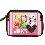 with love - Digital Camera Leather Case
