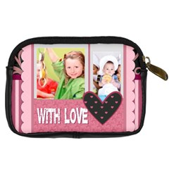 With Love By Mac Book   Digital Camera Leather Case   Nwtekds62o4f   Www Artscow Com Back